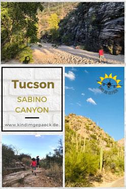 Sabino Canyon mit Kindern