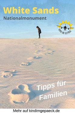 Tipps für den White Sands Besuch in New Mexiko.