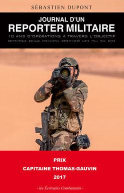 couverture du livre : Journal d'un reporter militaire de Sébastien DUPONT