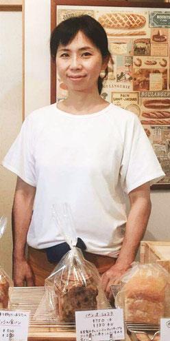 大村のおいしいパン屋ホームラボ店主楠本恵利子
