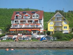 Bild: Ferienwohnung Meersburg direkt am Bodensee mit Seesicht