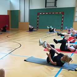 HIIT-Training in der Gruppe