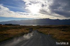Neuseeland - Lake Pukaki - Motorrad - Reise