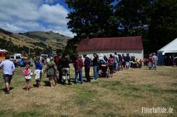 Neuseeland - Okains Bay - Waitangi Day - Motorrad - Reise