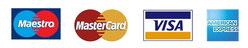 Wir akzeptieren auch Bankomat- und Kreditkarten