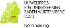 Nominierung für den Baden-Württembergischen Umweltpreis