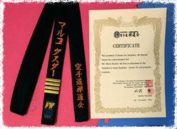 4. Dan Zendokai Karate-Do (Akatsuki Dojo 暁道場)