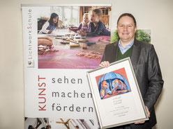 Hamburger Kultursenator Dr. Carsten Brosda übernimmt die erste Schirmherrschaft der LichtwarkSchule. Foto: R. Palte