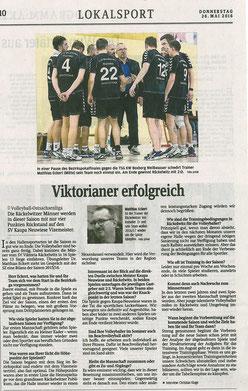 Sächsische Zeitung, Bautzen 26.05.2016