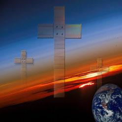 Pour les catholiques, protestants et orthodoxes , l'âme est immortelle et, à la mort, va soit au ciel auprès des anges soit en enfer pour une condamnation aux supplices éternels. Le purgatoire, avec la vente des indulgences, est une croyance catholique.