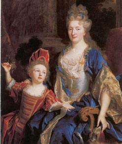 Nicolas de Largillière, Portrait de Mme Catherine Coustard avec son fils, vers 1699 / Minneapolis Institute of art