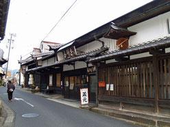 中津川宿はざま酒造