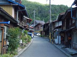 上松宿町並み2