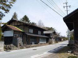 借宿の町並み2