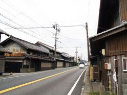 関ヶ原宿の町並み