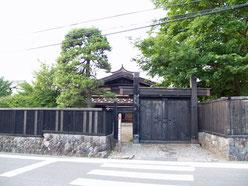 旧本陣跡(堀内家)