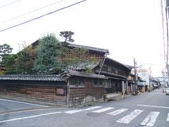 中津川宿庄屋跡