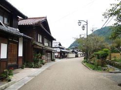 醒ヶ井宿の町並み1