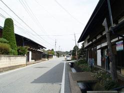 小田井宿町並み