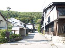 和田宿町並み2