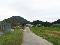 東番場と西番場の間の田園