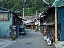 上松宿町並み1
