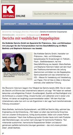 02/2015 | k-zeitung.de
