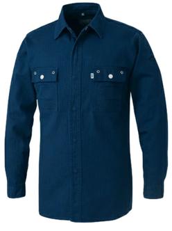 3942-125シャツは紺色のみとなります。