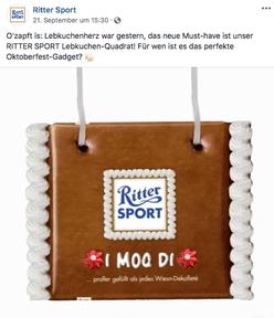 Ritter Sport Wiesn Fakesorte