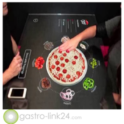 Pizza Hut interactive concept table