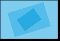 フリップの表裏をひっくり返したり、支点を軸に回転するようなアニメーション。
