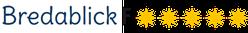 Logo 5-Sterne Klassifizierung Ferienhaus Schleivilla Bredablick an Schlei und Ostsee