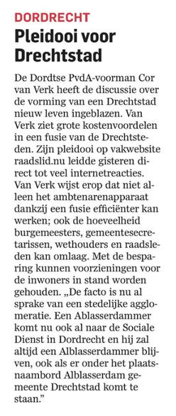 AD De Dordtenaar 27-03-2015