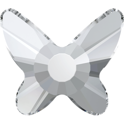 Swarovski 2855 Butterfly 001 Crystal Hotfix