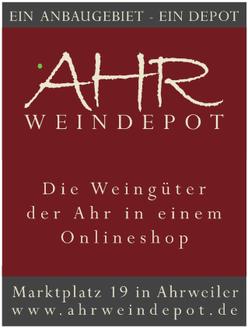 Ahrweindepot - Der Weinversand von der Ahr