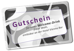 Hotel Vienna Welcome-Drink