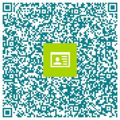 Unsere Praxisadresse: Einfach mit dem Smartphone scannen und speichern! Tipp - klicken Sie auf den QR-Code um ihn zu vergrößern