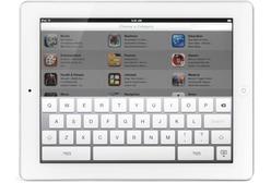 Eine virtuelle Tastatur gibt es bereits auf dem iPad. Foto: pa/All Canada Ph/All Canada Photos