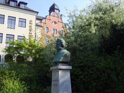 Plauen, Julius-Mosen-Denkmal