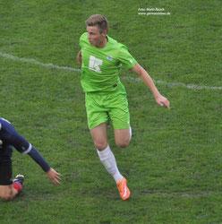 Eike Begemann trägt in der kommenden Saison das Trikot des VfL Germania Leer.