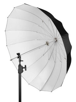 Westcopp Apollo Deep Umbrelle White 109cm