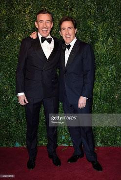 左:スティーブ・クーガン 右:ロブ・ブライドン