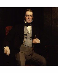 Sir William Molesworth - portrait donated to National Portrait Gallery by his widow