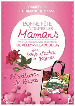 Fête des Mères à Vélizy.