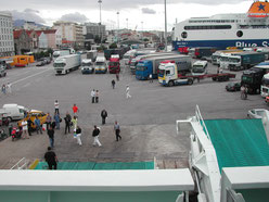 Hafen in Patras