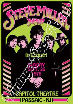 steve miller band, steve miller band poster, steve miller band concert