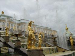 Peterhof, grosse Kaskade