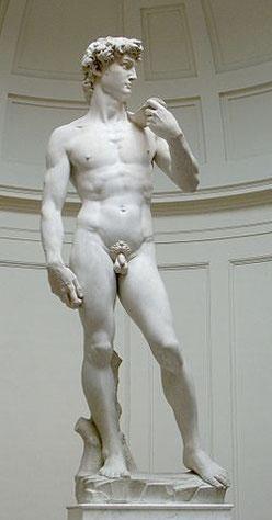 ダビデ像 David di Michelangelo
