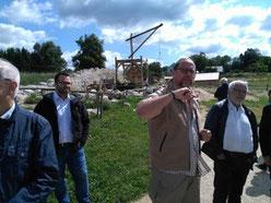 Im Geschichtspark Bärnau-Tachov wird ständig weiter gebaut.