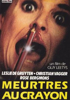 Meurtres Au Crayon de Guy Lee Thys - 1982 / Slasher - Horreur